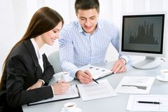 Workteam Royalty Free Stock Image