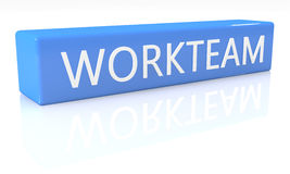Workteam Images libres de droits