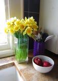 Worktop da cozinha Imagem de Stock Royalty Free