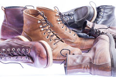 Workwear boots Royalty Free Stock Photography
