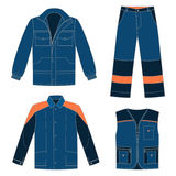 Workwear set Stock Images