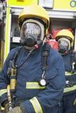 workwear strażaka zabezpieczające obraz royalty free