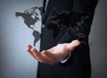 Worl map concept Stock Photos
