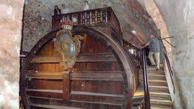 World's el barril de vino más grande en Heidelberg, Alemania fotografía de archivo libre de regalías