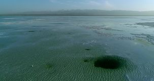 World's la maggior parte dei punti scenici di stupore Chaka Salt Lake archivi video