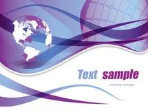 World. Background world , dynamic active illustration Stock Photos