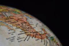 The World. This picture show us South-America Stock Image
