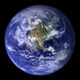 World 3d globe. Royalty Free Stock Photography