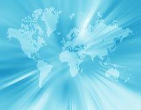 World. Map,2D digital art Royalty Free Stock Images