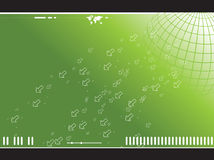 World. Background world and binary code abstract Royalty Free Stock Image