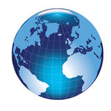 World. 3D illustration of a globe Stock Image