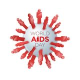 World AIDS Awareness Day Stock Photography
