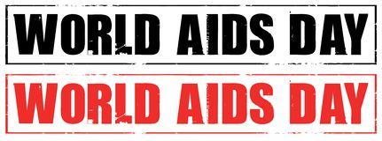 World aids day Royalty Free Stock Photo