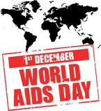 World aids day Royalty Free Stock Image