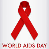 World Aids Day Banner Stock Photography