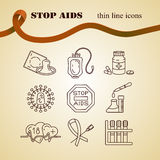 World Aids Day concept Royalty Free Stock Photos