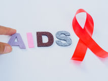 World AIDS day concept. Stock Images