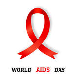 World AIDS day concept vector.  Stock Photography
