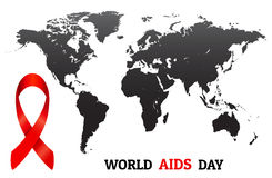 World AIDS day concept vector.  Stock Photo