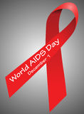 World AIDS day, December 1 Stock Image