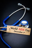 World AIDS day December 1st. stock photography