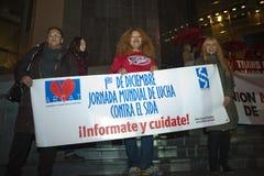 World AIDS Day, paris Stock Photo