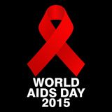 World Aids Day, Poster and Quotes, Inspirational Message Stock Images