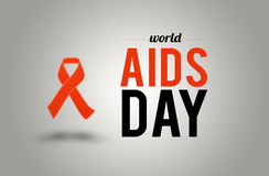 World AIDS day. 1st December Royalty Free Stock Photo