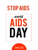World AIDS day. 1st December Royalty Free Stock Photos