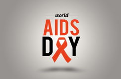 World AIDS day. 1st December Royalty Free Stock Photography