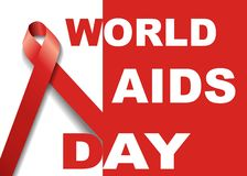 World aids day symbol.1st December World Aids Day. Aids Awareness.Red ribbon. ,banner or poster of world aids day. World aids day symbol.1st December World Aids vector illustration