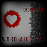 World Aids Day. Vector illustration. AIDS Day, and Memorial. Vector illustration Stock Photo