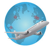 World airplane Stock Images