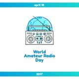 World Amateur Radio Day Stock Photos