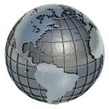 World (The Americas) royalty free illustration