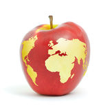 World apple Stock Photography