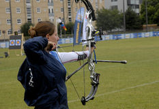 WORLD ARCHERY CHAMPIONSHIPS IN DENMARK Royalty Free Stock Image