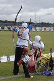 WORLD ARCHERY CHAMPIONSHIPS IN DENMARK Royalty Free Stock Photos