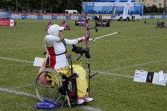 WORLD ARCHERY CHAMPIONSHIPS IN DENMARK Royalty Free Stock Photography