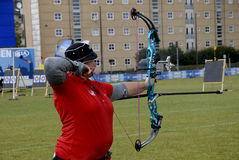 WORLD ARCHERY CHAMPIONSHIPS IN DENMARK Royalty Free Stock Photo