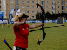 WORLD ARCHERY CHAMPIONSHIPS IN DENMARK Stock Photo