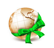 World as a gift Royalty Free Stock Photos