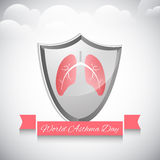 World Asthma Day background Stock Photos