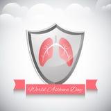 World Asthma Day background Stock Photos