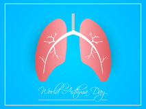 World Asthma Day background. Creative  abstract for World Asthma Day with creative illustration in background Stock Photos