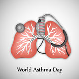 World Asthma Day Background Stock Photography