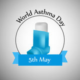 World Asthma Day Background Royalty Free Stock Image