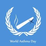World Asthma Day Background Stock Photo