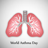 World Asthma Day Background. Illustration of elements for World Asthma Day Stock Photos