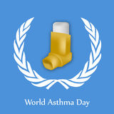 World Asthma Day Background Royalty Free Stock Photo